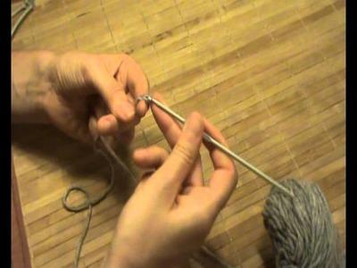 Curso de ganchillo-crochet. Punto de cadeneta