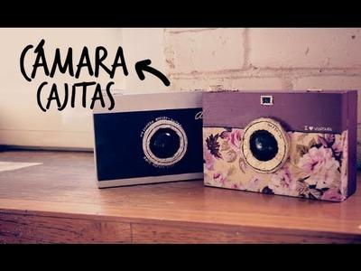 Haz cajitas en forma de cámara! (Anie)