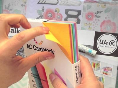 Material Scrapbooking Compras Octubre 2013 (Mi Cumpleaños)