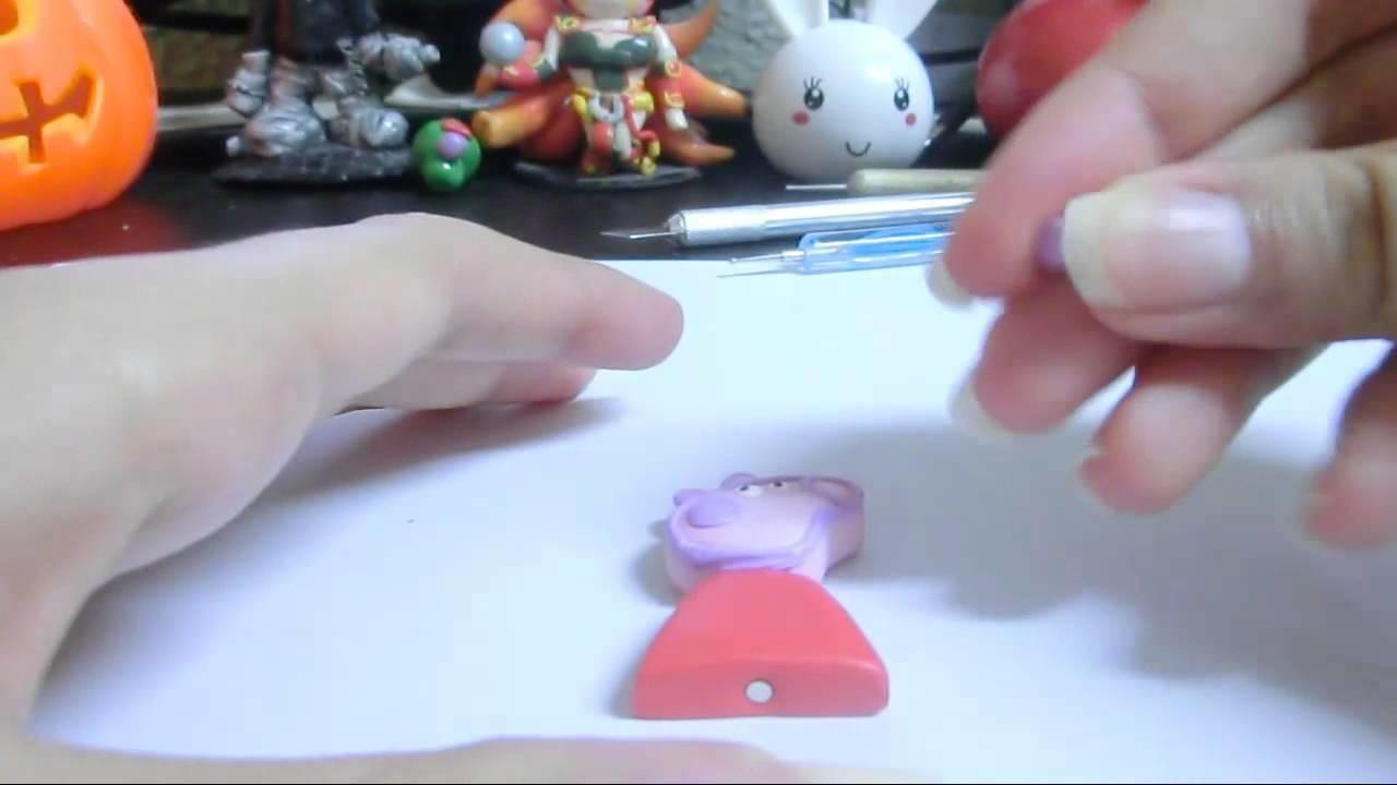 Peppa Pig Tutorial. Polymer Clay Tutorial