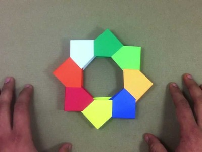 Portarretrato de origami - Marco de fotos