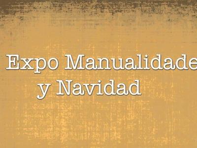 Sorteo 500 suscriptores PASES GRATIS PARA EXPO MANUALIDADES Y NAVIDAD Participa!
