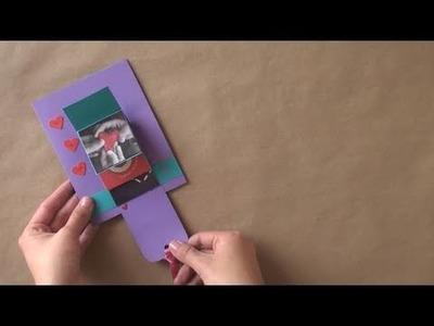 "Tarjeta en ""Cascada"". San Valentin [waterfall card]"