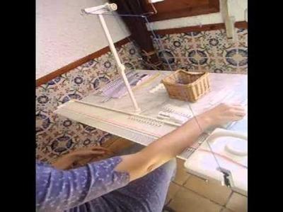 Tricotar con la LK 150 es así de fácil