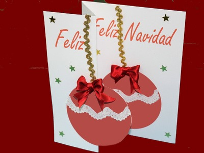 Tutorial: Christmas en 3D. DIY: 3D Christmas