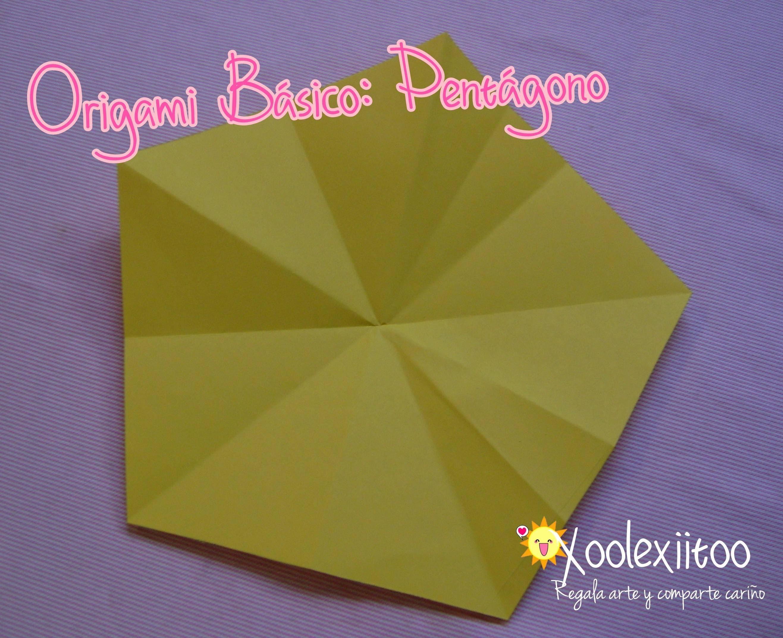 @xoOlexiitOo.  ❥ Origami Básico Pentágono  ¿Cómo hacer un pentágono con un cuadrado?
