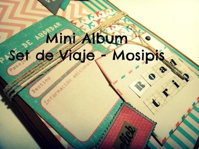 Mini Album - Set de Viaje Mosipis - Mini Album Scrapbook