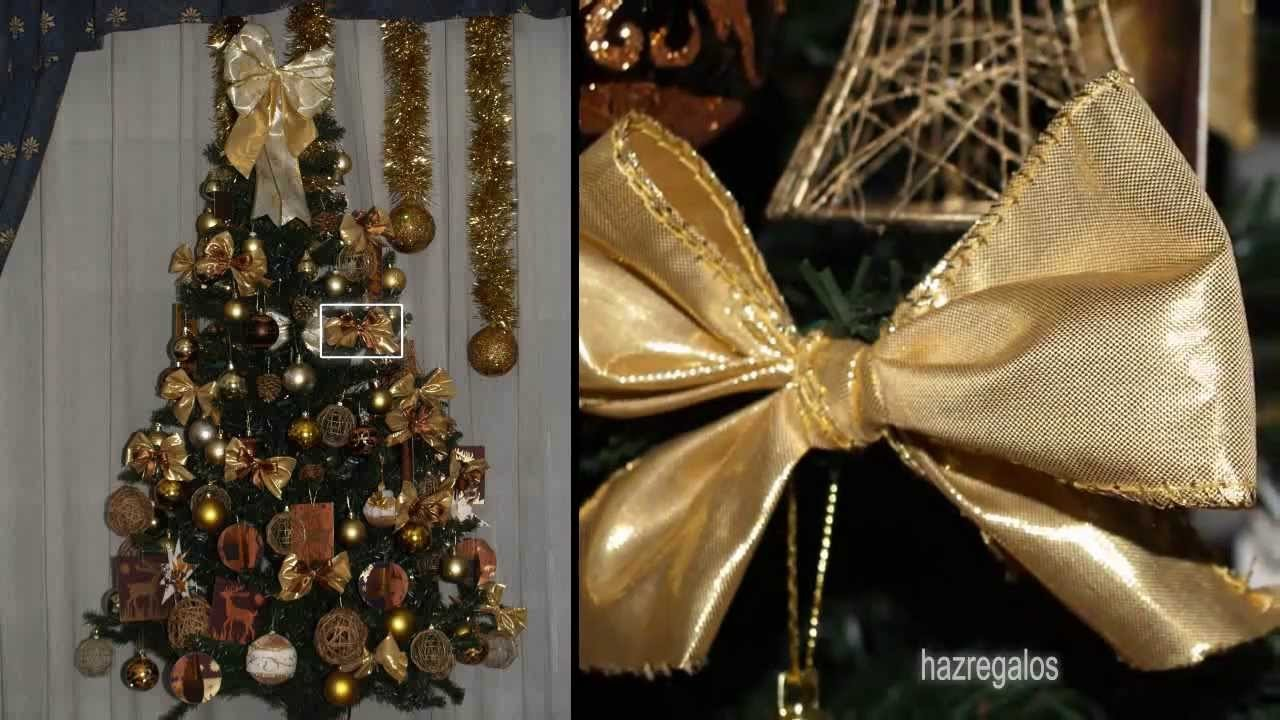 Árbol de Navidad con los Adornos - DIY - Decorated Christmas Tree