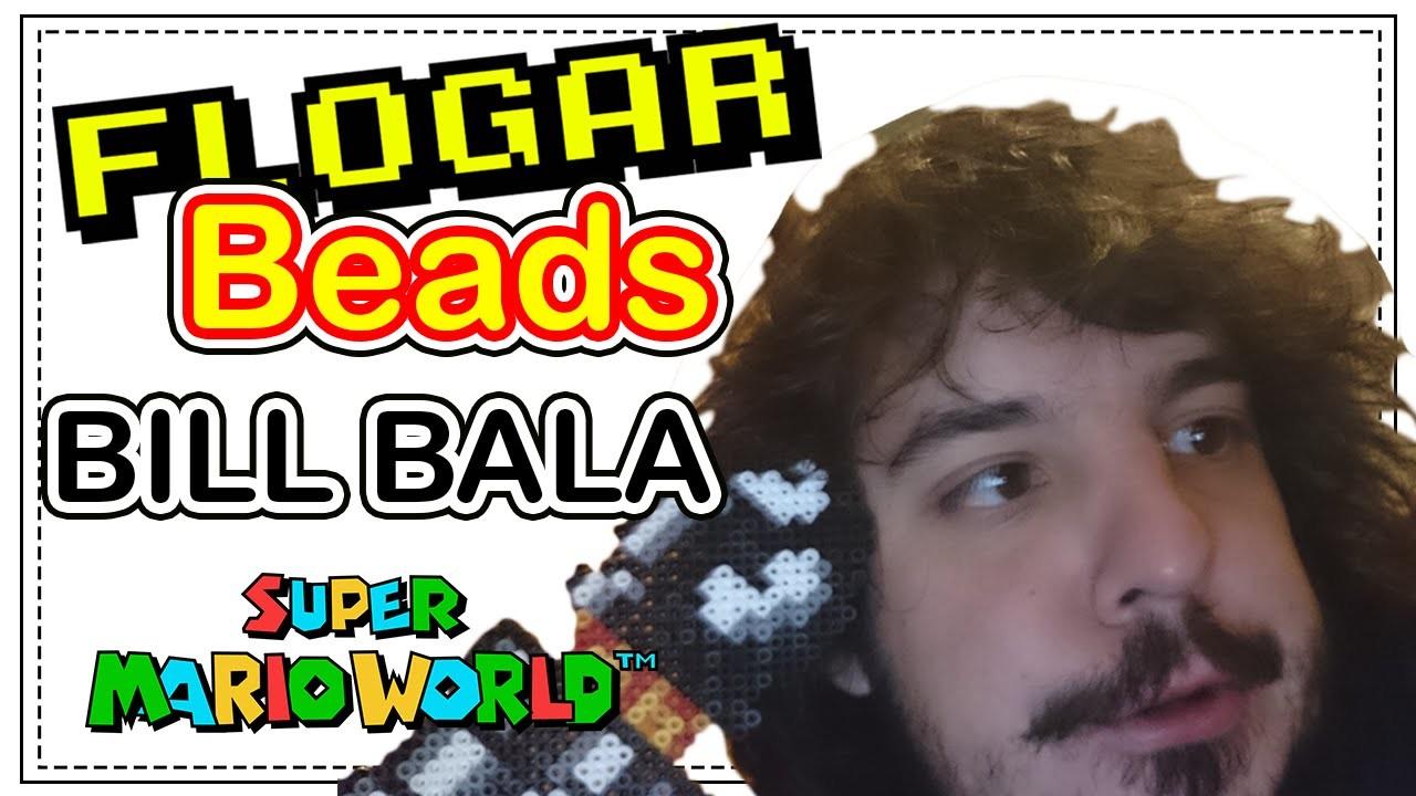 BILL BALA (SUPER MARIO) DIY- Tutorial Pearl.Hama Beads para Gamers - FloGar o.O