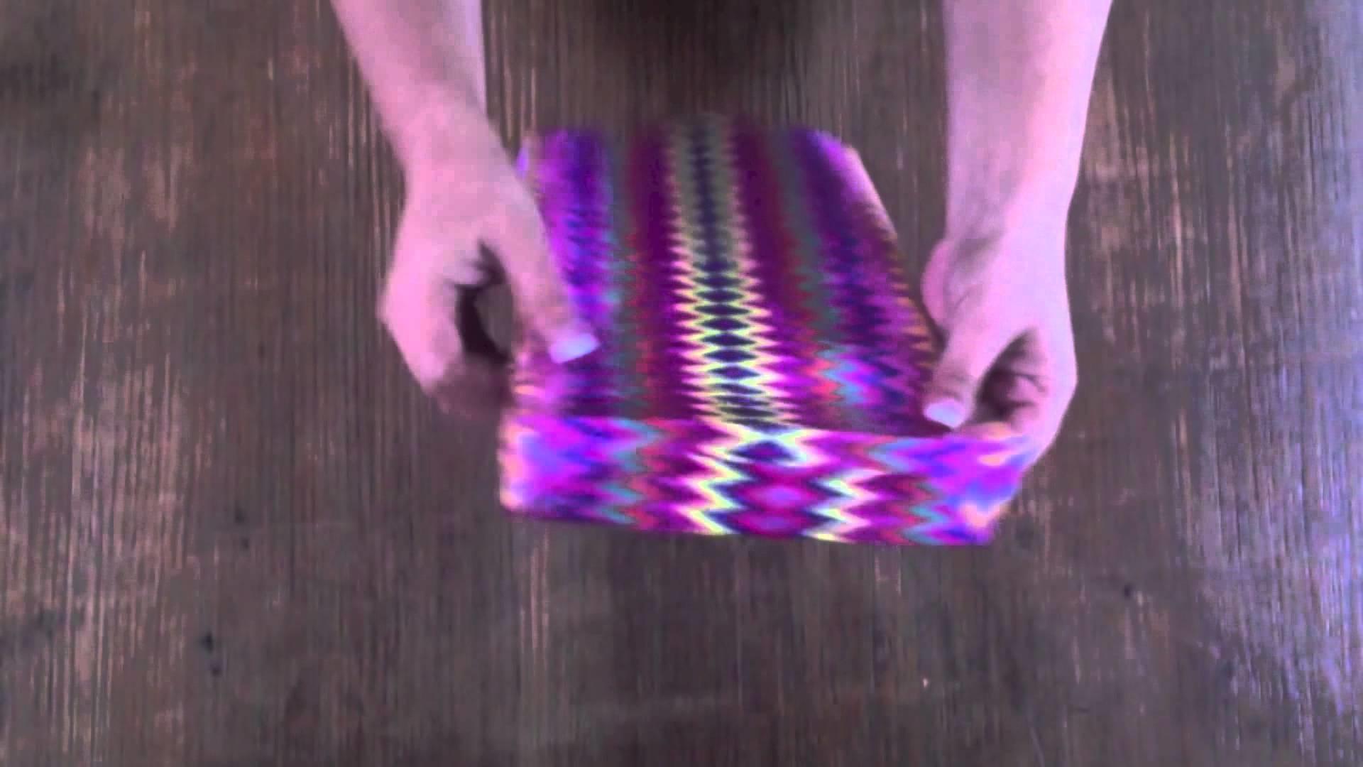 Bolsa de papel (fácil y rápida). DIY Paper bag (fast and easy) Gékolo