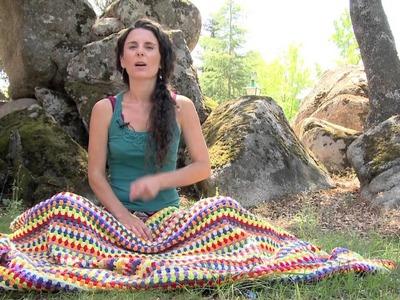 Cómo calcular la lana para una manta de ganchillo   How to calculate yarn for a crochet blanket