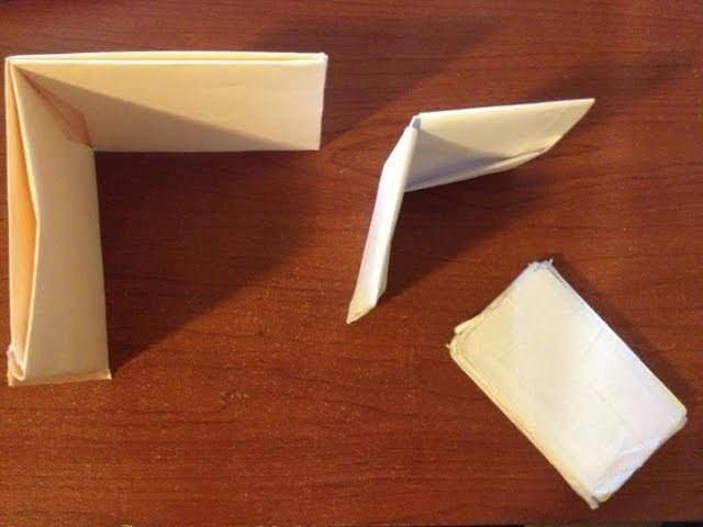 Como hacer carteras de papel. How to make a paper wallet [NO need for audio]