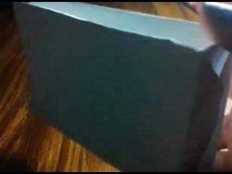 Como hacer una bolsa de regalo FACIL. Origami. bolsa de papel how to. DIY