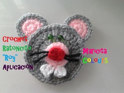 """Crochet Tutorial Ratoncito """"Roy"""" (Parte 2) Aplicación por Maricita Colours"""