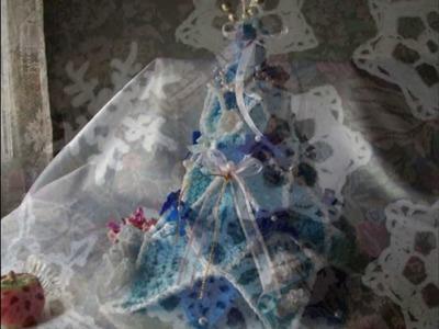 DECORACION NAVIDEÑA EN CROCHET.Arbolito de Navidad!!!!