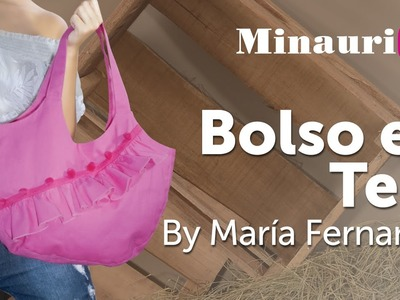 DIY - Bolso en Tela #9 by Minauri ( How to make fabric handbag ) ( sew. purse. wallet. tote )