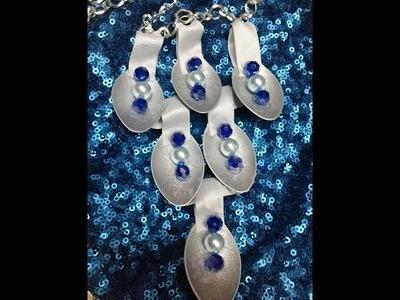 DIY Collar-Gargantilla reciclada.Recycled  Necklace