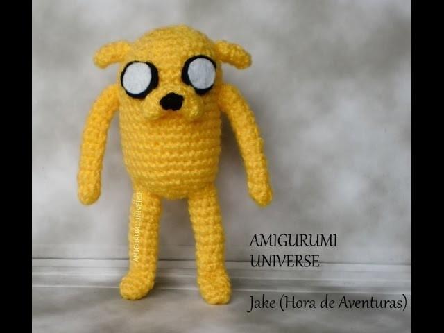 DIY Crochet Tutorial JAKE (Hora de Aventuras) Amigurumi.Universe Adventure Time