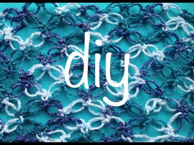 Espuma de Mar, Nudo Salomón, Mariposa Ganchillo Crochet Salomon's Knot, Butterfly DIY