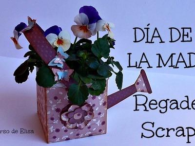 Regalos para el Día de La Madre, Manualidades para el Día de la Madre, Regadera Scrapbook
