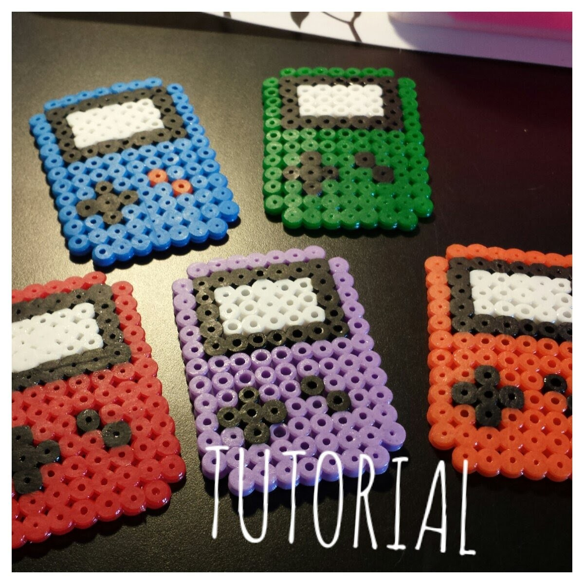 ❤TUTORIAL: Game Boy con Hama Beads. Pyssla❤