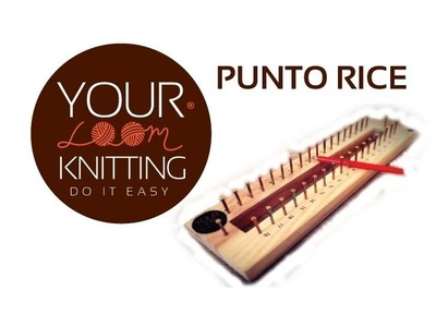 YLK 3º: Tejer sin agujas, punto Rice - Knitting Revolution, Knitting for dummies