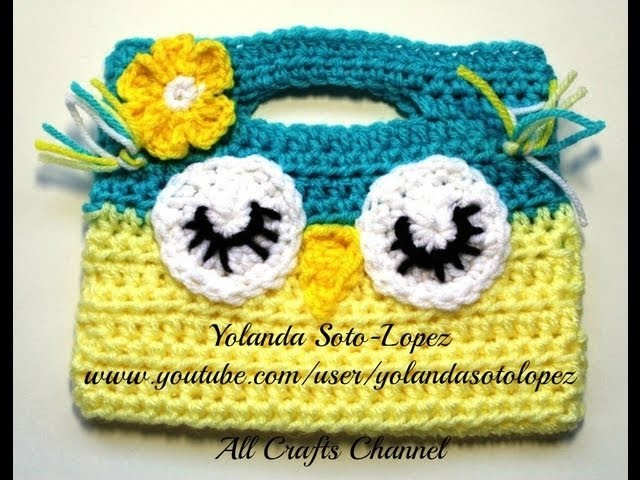 Bolsita Buho en Crochet Video 1