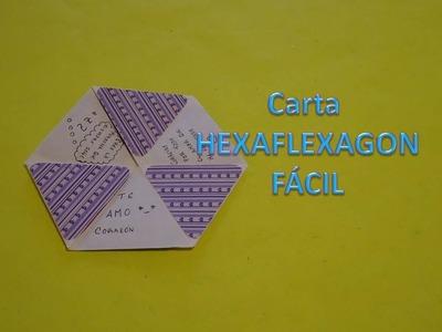 Carta HEXAFLEXAGON super FÁCIL