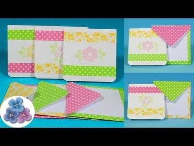 Como hacer Tarjetas Washi Tape para Regalos Originales *DIY Scrap Personalised Gifts* Pintura Facil