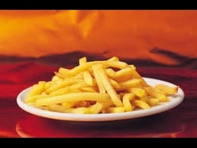 Como preparas papas a la francesa. How to make french fries