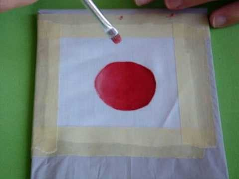 DIY Como Difuminar Colores con Pintura en Tela *How to Blur Paint* Pintura Textil Pintura Facil