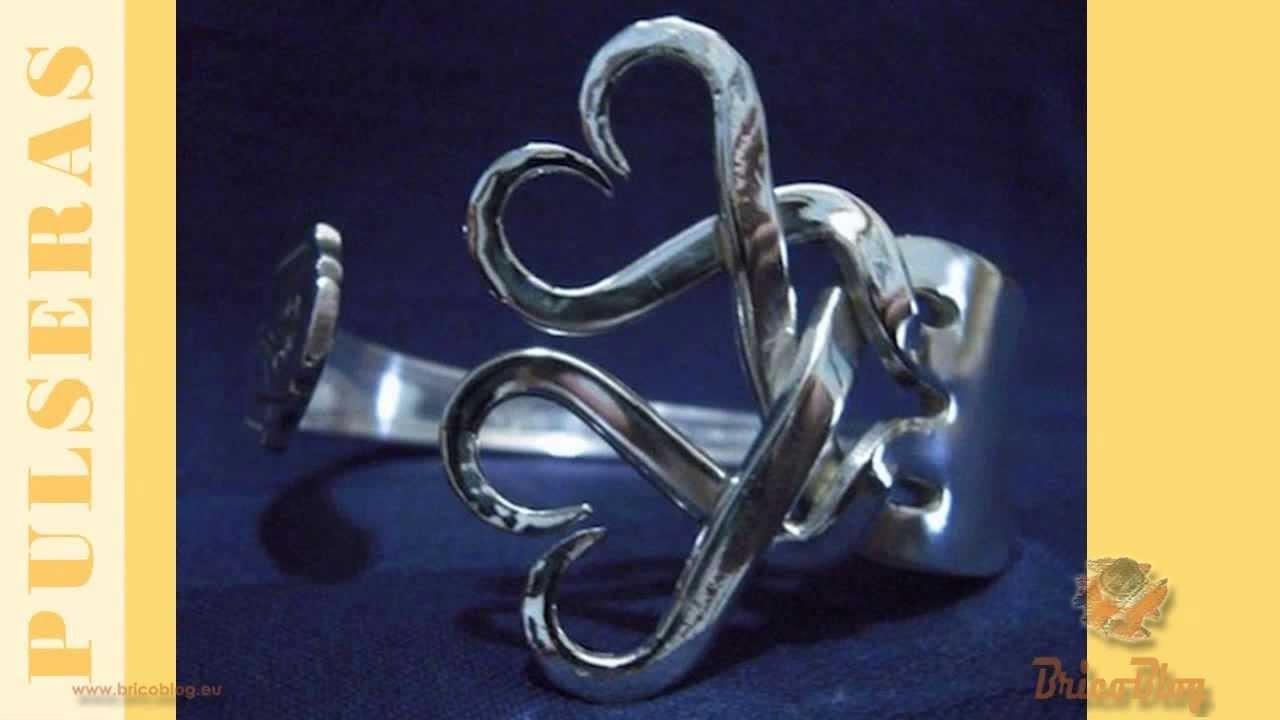 Ideas para hacer manualidades de reciclado de tenedores - Ideas for recycling crafts holders
