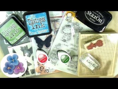 Material para Scrapbook Tipos de Sellos y Tintas *Scrapbook Tutorial* Scrapbook Review Pintura Facil