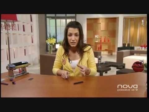 Silvia Mijangos realiza un collar con cintas de organza y arcilla polimérica, Bien Simple