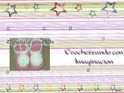 Tutorial Zapatitos a crochet