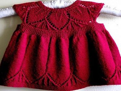 Vestido Para Niña Tejidos a Crochet
