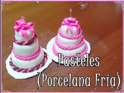 ♥ PASTELITOS O TORTAS- PORCELANA FRÍA. POLYMER CLAY ♥