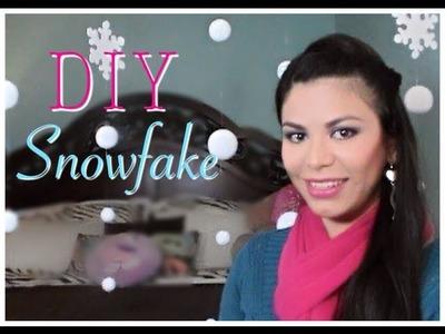 ☃ DIY Decoracion para Navidad ☃ ( Nieve falsa ) Tutorial