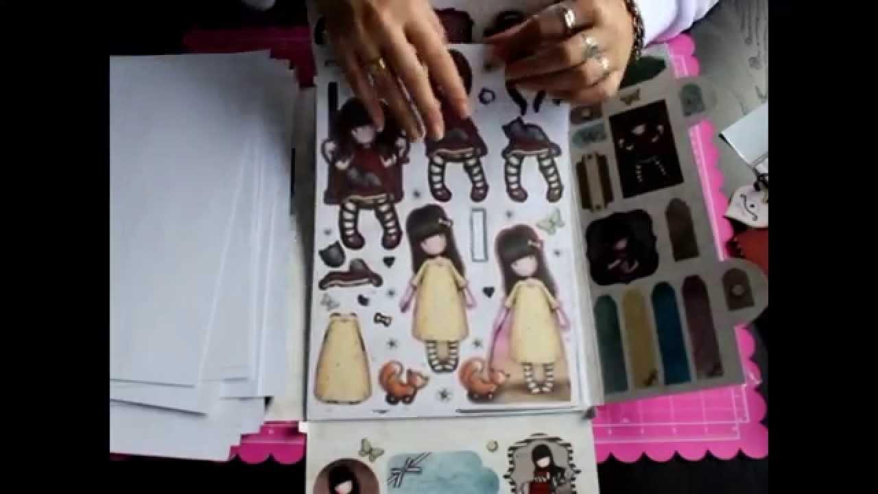 Productos Gorjuss Bellaluna crafts Tienda Online Materiales Scrapbooking
