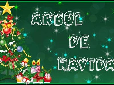 Árbol de Navidad en Arcilla Polimérica.Christmas tree in Polymer Clay