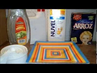 Como hacer Paper Clay Casero