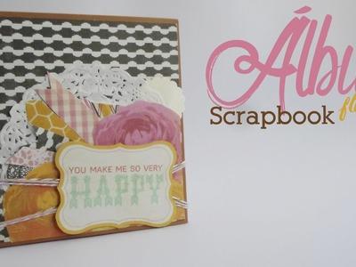 Álbum flip flop || Scrapbook || Día de las Madres