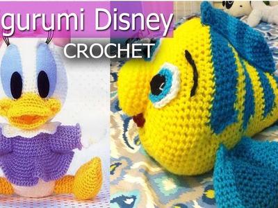 Amigurumi de Disney Personajes - Tejidos a Crochet ( Ideas Diseños )