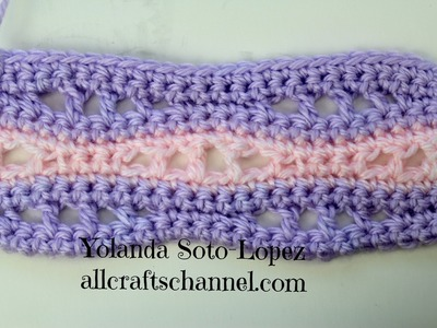 Aprenda a tejer crochet. patron Seafoam