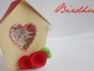 Birdhouse Box || Paper Crafting ||