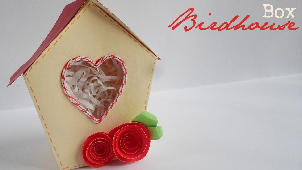Birdhouse Box || Paper Crafting ||