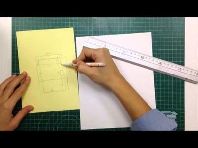 Cómo hacer sobres para tarjetas sin herramientas específicas - TUTORIAL Scrapbook