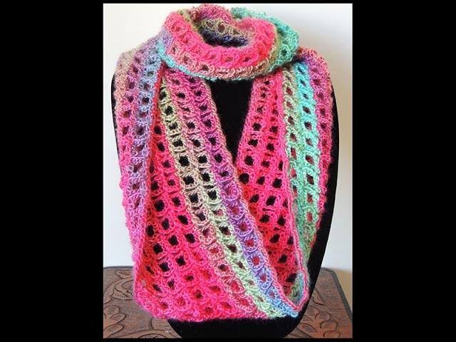 Crochet : Bufanda Infinita # 5