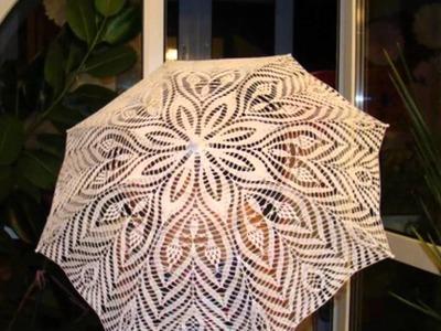 Diseños de sombrilla tejida a crochet