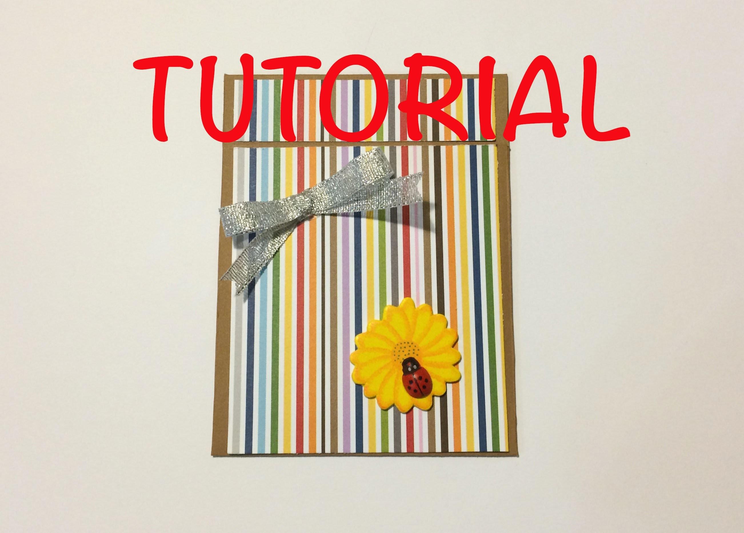 DIY Tutorial paso a paso tarjeta regalo deslizante slide card slide gift card